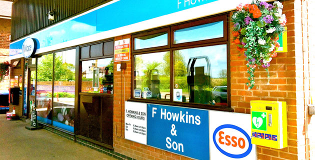F Howkins Forecourt Shop